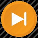 control, forward, multimedia, next, song, track, arrow