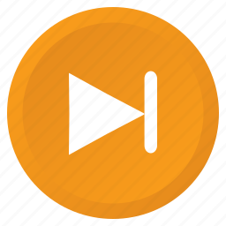 arrow, control, forward, multimedia, next, song, track icon