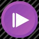 control, multimedia, next, track, arrow, audio, video