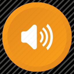 audio, high, loud, multimedia, sound, speaker, volume icon