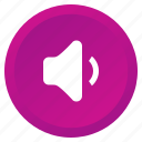 audio, low, multimedia, music, sound, speaker, volume icon