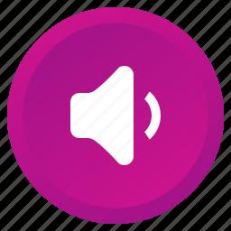 audio, low, multimedia, music, sound, speaker, volume icon