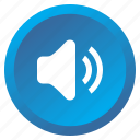 audio, multimedia, music, player, sound, speaker, volume icon