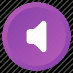 audio, control, multimedia, mute, sound, speaker, volume icon