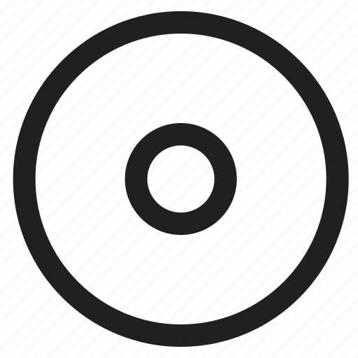 cd, media icon