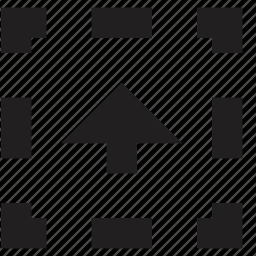 media, upload icon