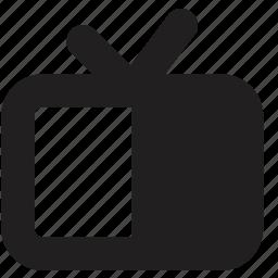 media, screen, television icon