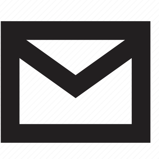 email, mail, media icon