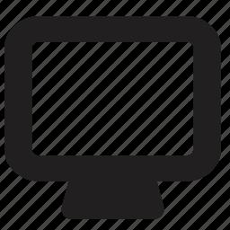 media, screen, television, tv icon