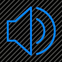 loud, sound, volume icon