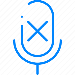 microphone, mute, voice icon