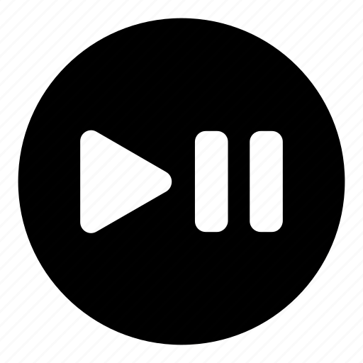 media button, pause, pause play, play, play pause icon