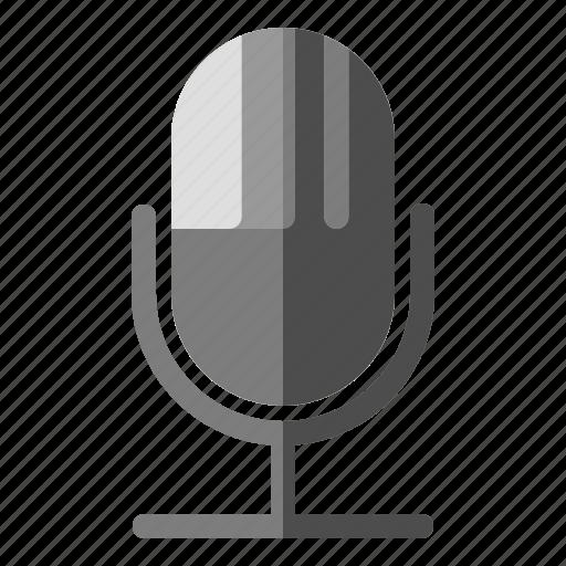communication, entertainment, internet, microphone, sound, voice icon