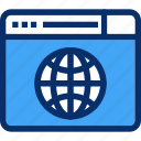 browser, internet, web, website