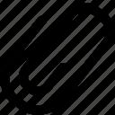 attachment, clip, design, office, paper, paperclip, tool icon