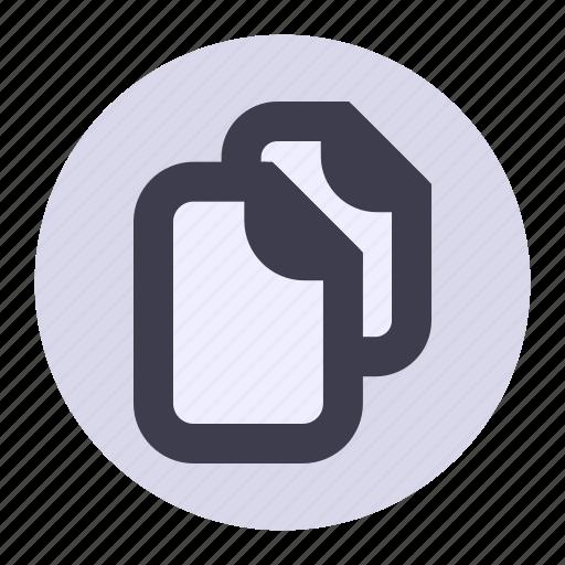 copy, documents, double, file, list, playlist, sheet icon