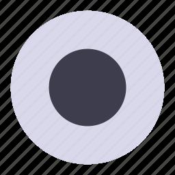 audio, circle, media, record, video icon