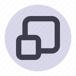 expand, restore, window icon