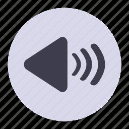 increase, media, player, plus, sound, volume icon