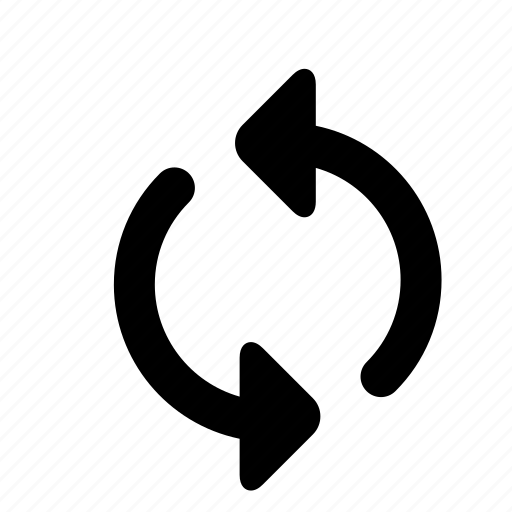 grey, loop playlist, media, outline icon