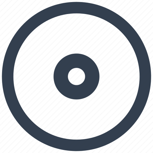 circle, disc, dvd, media, mp3, music, play, player, sound, wav icon