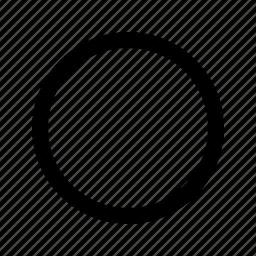 circle, media player, rec, record icon