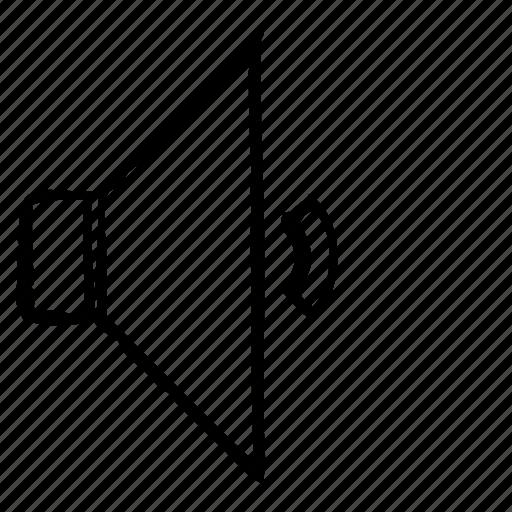 music, silent, sound, speaker icon