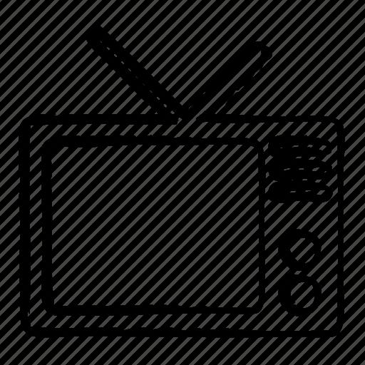device, monitor, screen, television icon