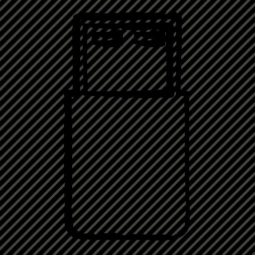 data, drive, server, storage, usb icon