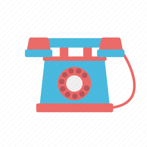 antique, call, communication, consume, dial, media, old, phone, telephone icon