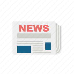 communication, consume, media, news, newspaper, paper icon