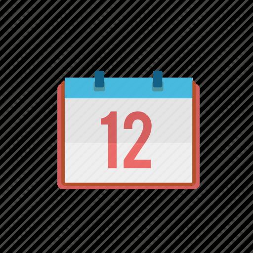 calendar, communication, consume, date, media icon