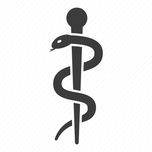 caduceus, healthcare, medical, medicine, pharmacy, snake icon