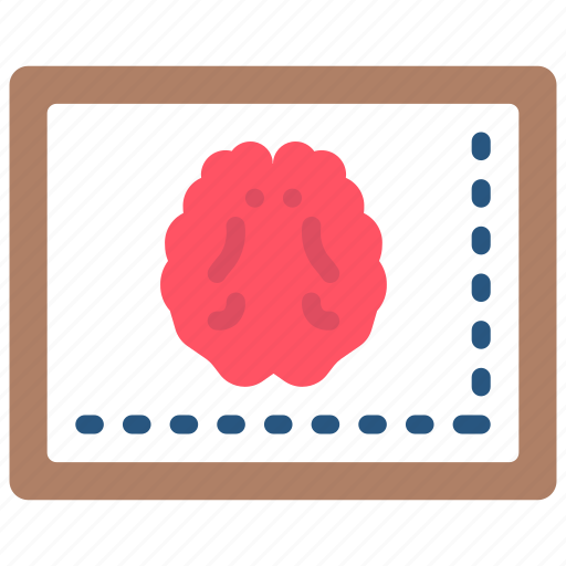 brain, doctor, equipment, hospital, medical, monitor, patient icon