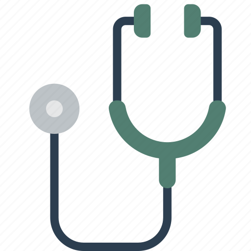 breathing, doctor, equipment, hospital, medical, patient, stethoscope icon