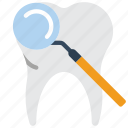 medical, hygiene, tooth, dentist, mouth, clean, mirror icon