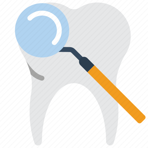 clean, dentist, hygiene, medical, mirror, mouth, tooth icon