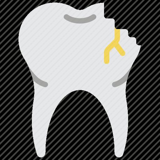 clean, cracked, dentist, hygiene, medical, teeth, tooth icon
