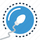 conception, doctor, egg, hospital, medical, patient, sperm icon