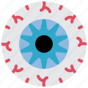 cornea, eye, medical, optician, pupil, retina icon