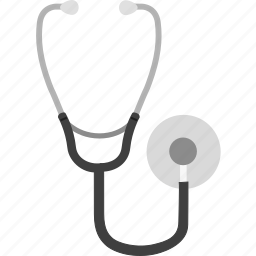 health, healthcare, heart rate, medical, phonendoscope, stethoscope icon