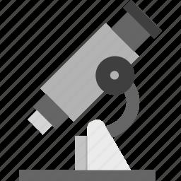 experiment, laboratory, medical, microscope, science icon