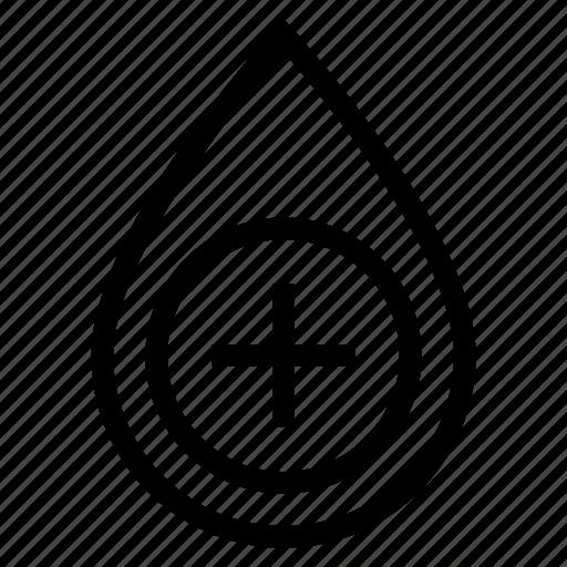 aqua, blood, drop, water icon