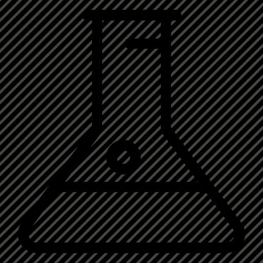 flask, lab, medicine, test icon