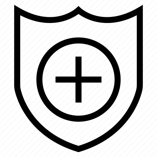 care, protection, secure, shield icon