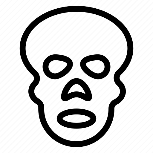 fluorography, radiology, skull, xray icon