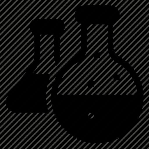 beaker, chemistry, flask, lab icon