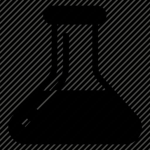 chemistry, flask, lab, test icon