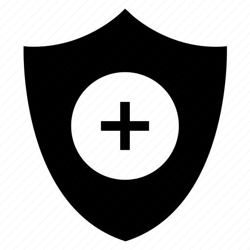 care, protection, security, shield icon
