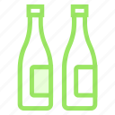 aqua, bottle, milk, water icon